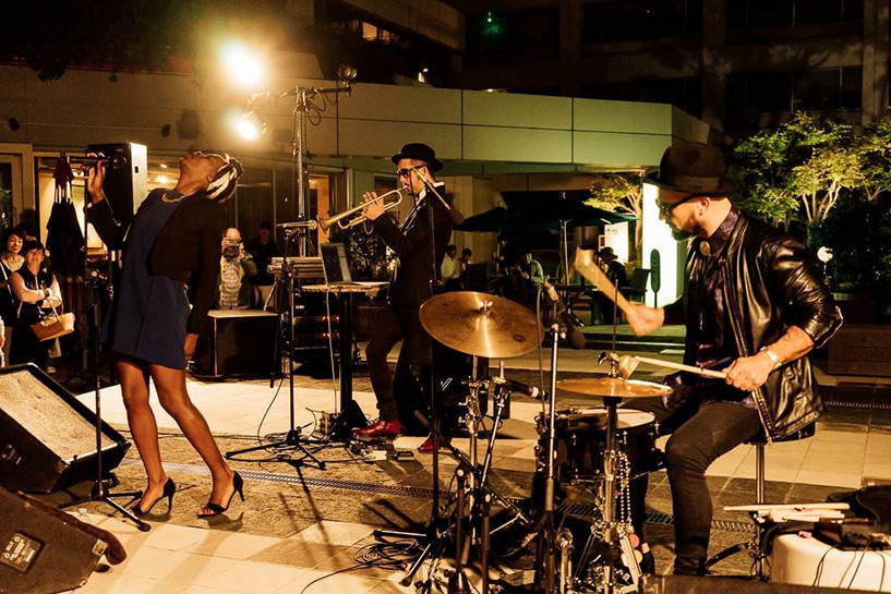 The Johnny Freelance Experience - concert sur la terrasse Pacela - Hiroshima