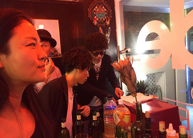 soirée à la boutique WILDE Sunglasses Hiroshima