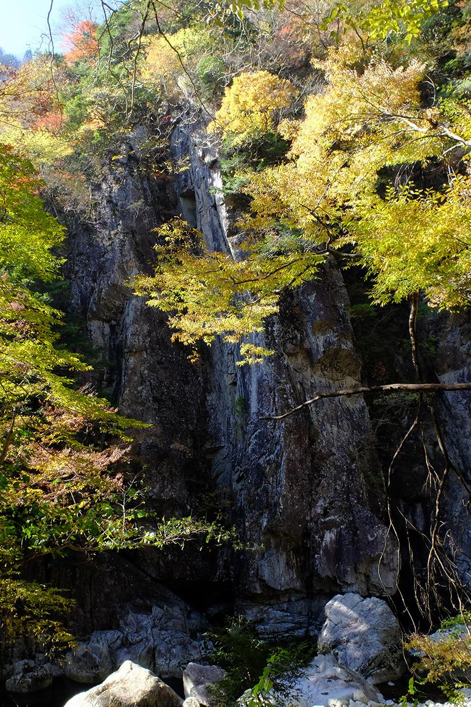 Parois du ravin de Sandankyo Japon