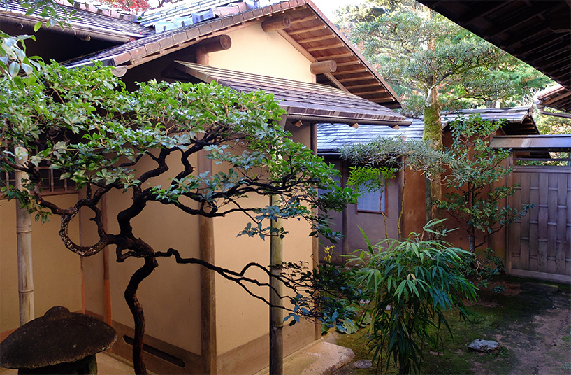 vue de la chambre de ryokan, Yudaonsen, Yamaguchi