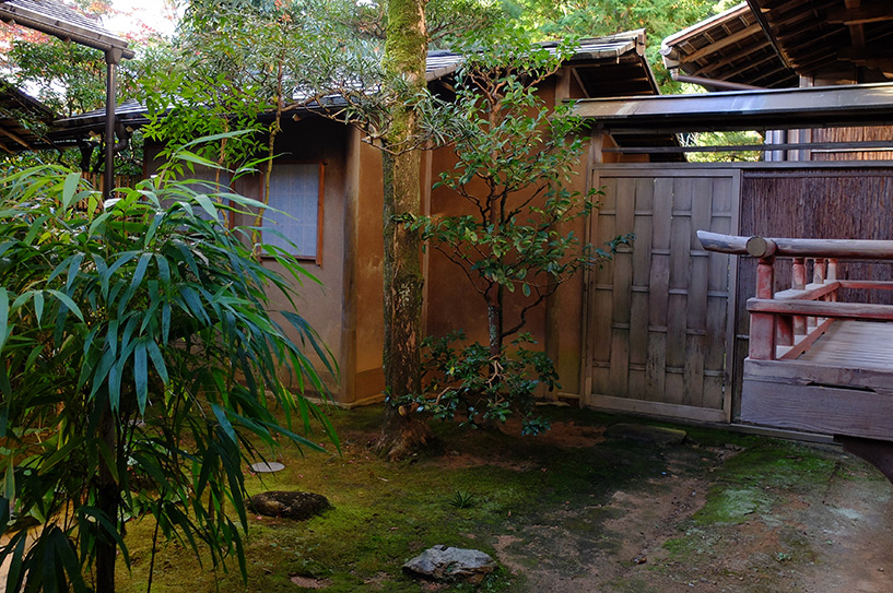 vue de la chambre de ryokan, préfecture de Yamaguchi