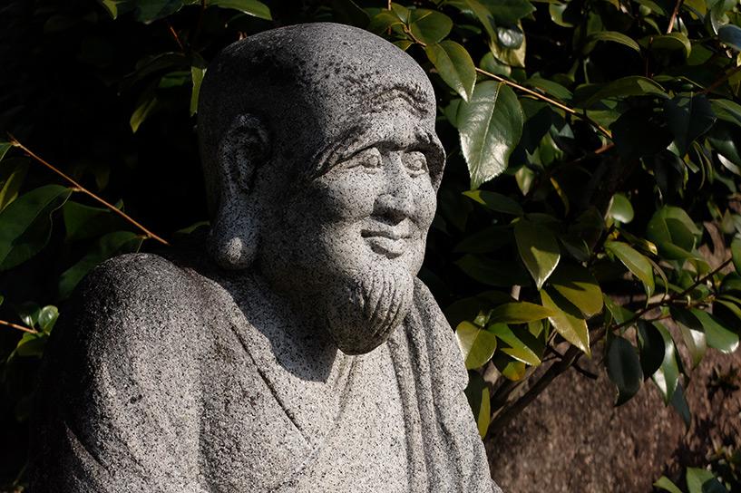 statue au temple Shoko-ji Hiroshima