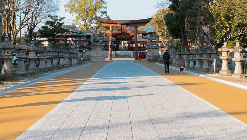 entrée du sanctuaire Nigitsu, Hiroshima
