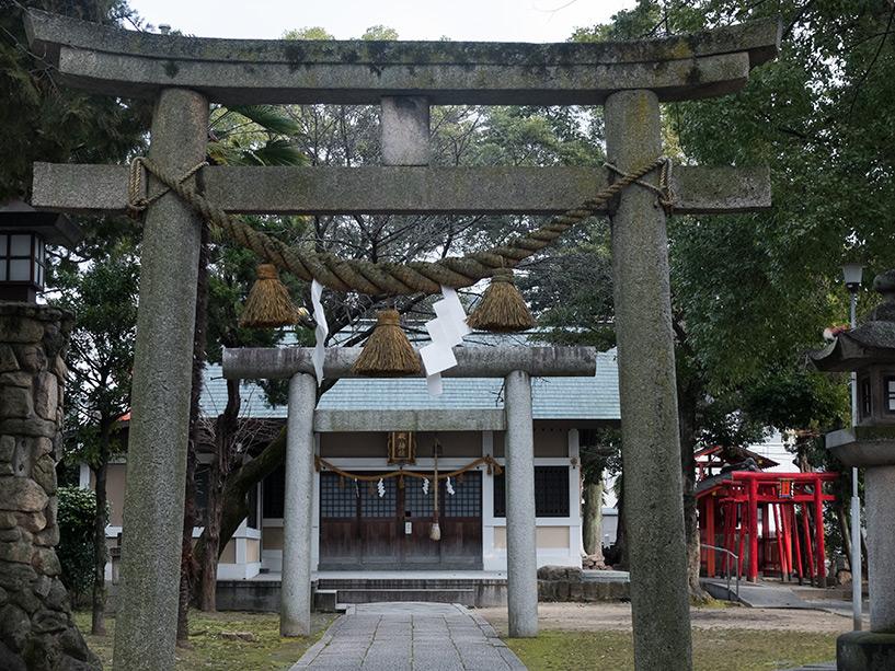 Entrée du Sanctuaire Ikari, Hiroshima