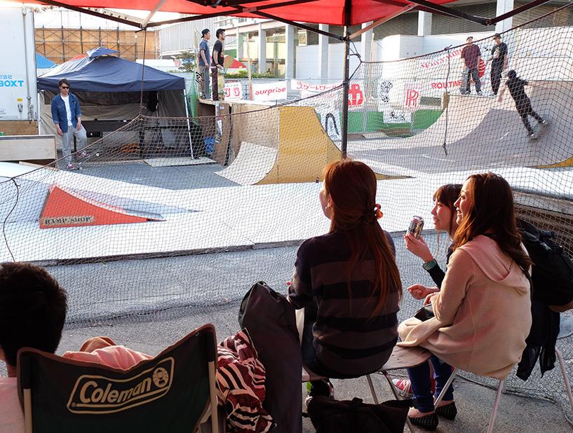 Skateworld Hiroshima, évènement de skate au Japon