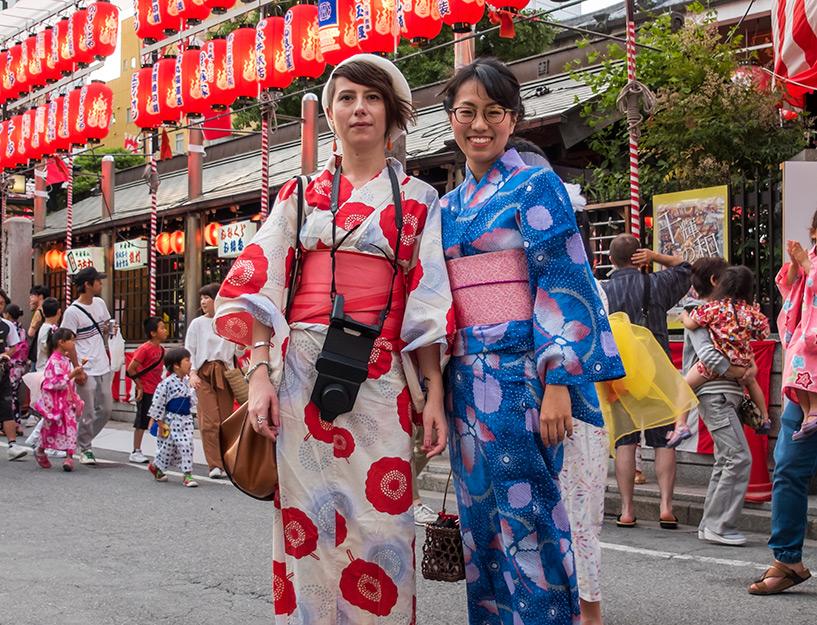 Yukata, Tokasan Yukata Matsuri, Hiroshima