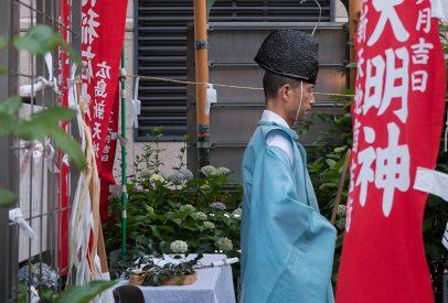 prêtre shinto
