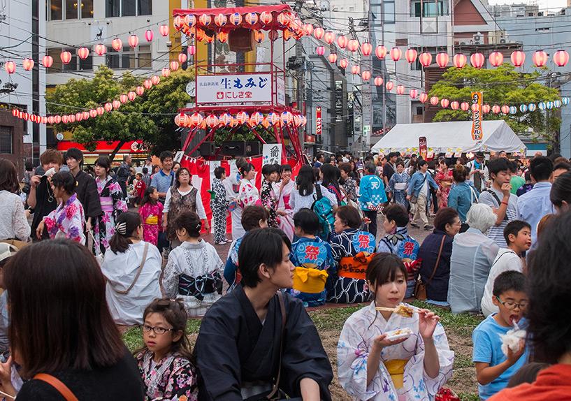 Shintenchi Koen, Hiroshima, Tokasan matsuri