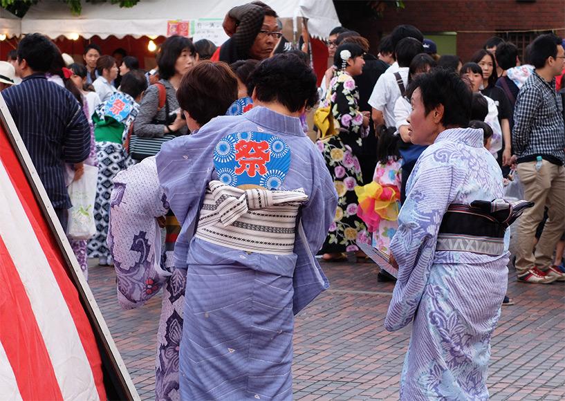mamies duTokasan Matsuri; Hiroshima