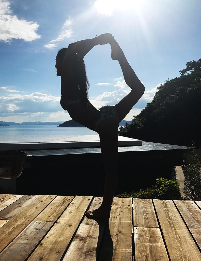 kotoe prof de yoga à Hiroshima
