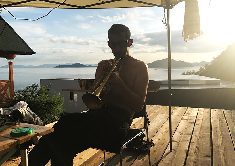 Nicolas des Johnny Freelance Experience à Etajima