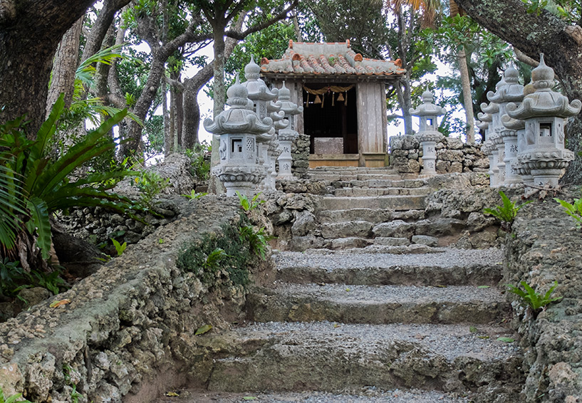 Temple Kabira Konnon-dō (川平観音堂), baie de Kabira, Ishigaki