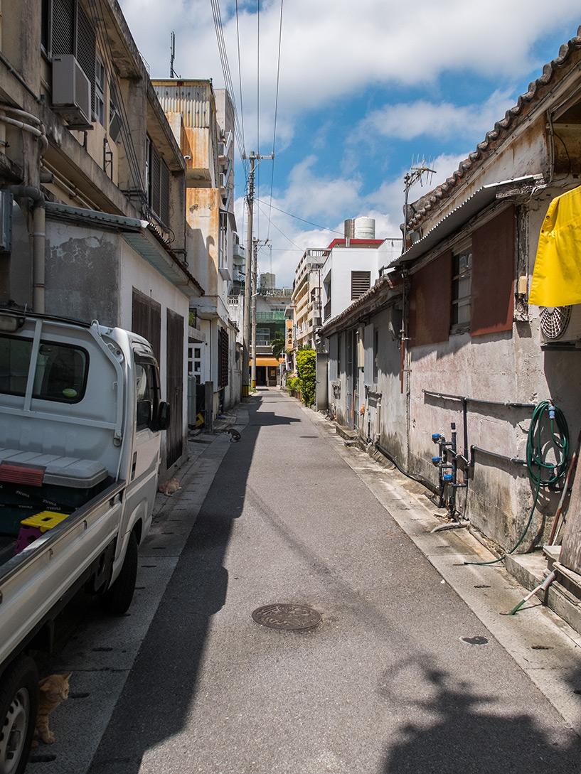 rue du centre d'Ishigaki