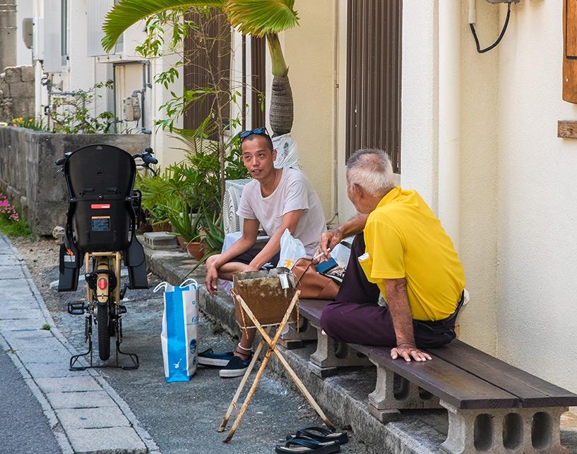 les vieillqrds rigolos d'Okinawa