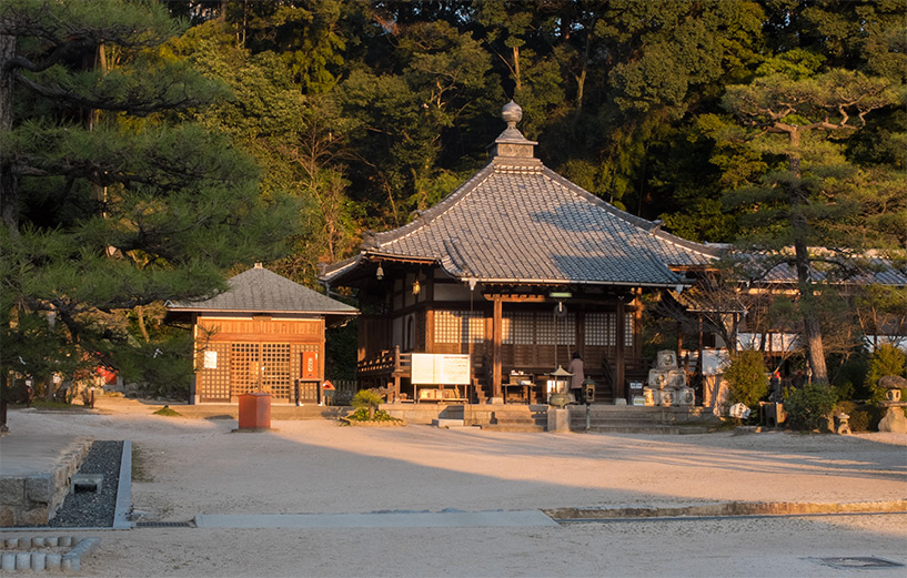Fudō-dō du temple Fudō-in, Hiroshima, Futabanosato
