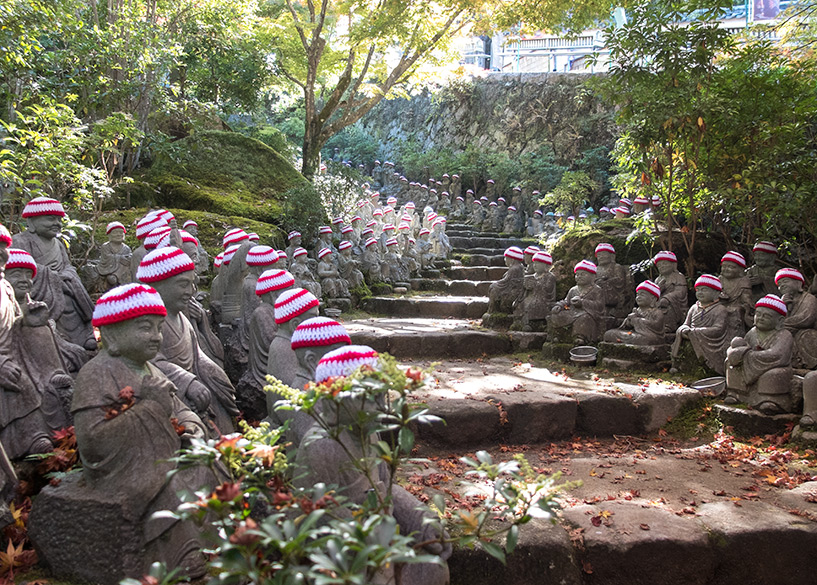 500 statues temple Daisho-in