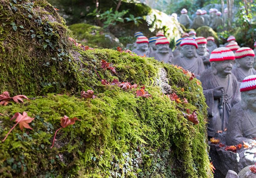 500 statues des disciples de Shaka Nyorai Daisho-in