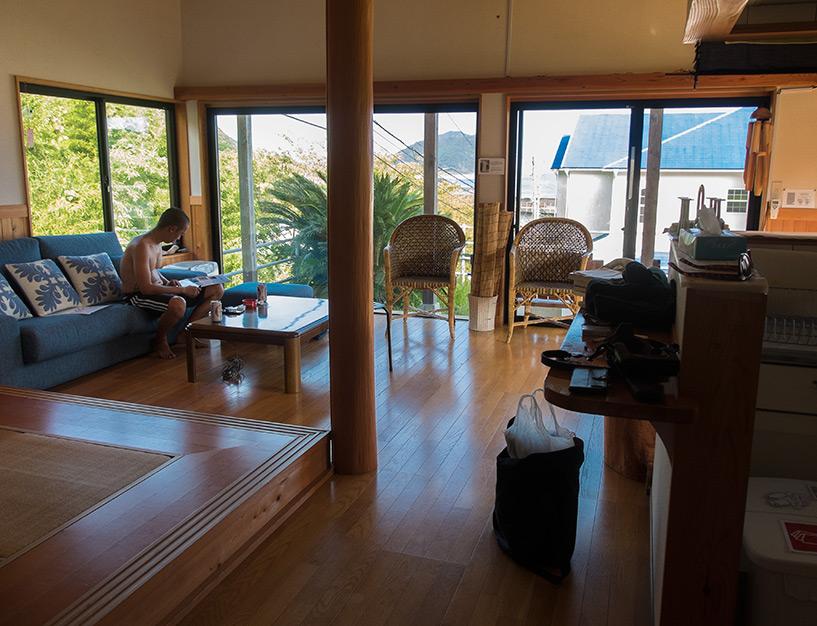 Island Terrace, maison avec vue sur l'océan à Kaifu, Shikoku