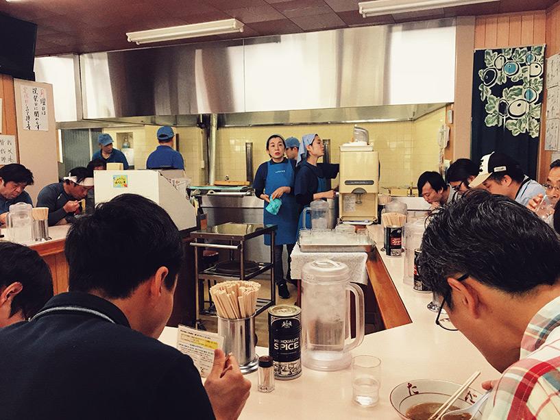 Inotani, le restaurant de ramen de Tokushima le plus connu