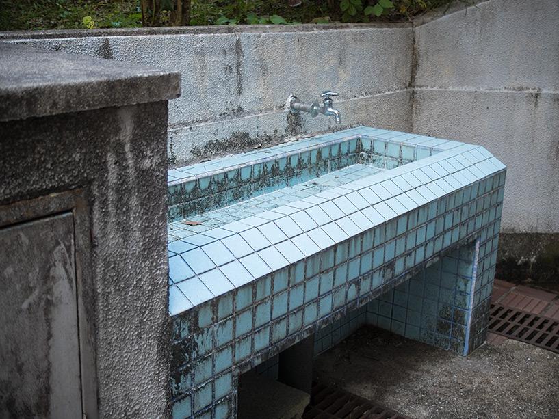 Grand ensemble d'habitations Motomachi, Hiroshima, vieil évier