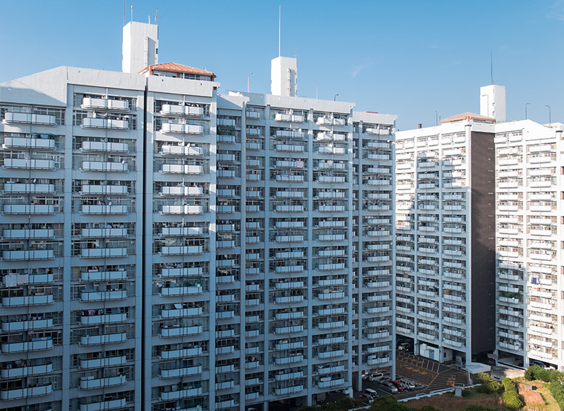 Grand ensemble d'habitations Motomachi, Hiroshima 市営基町高層アパート